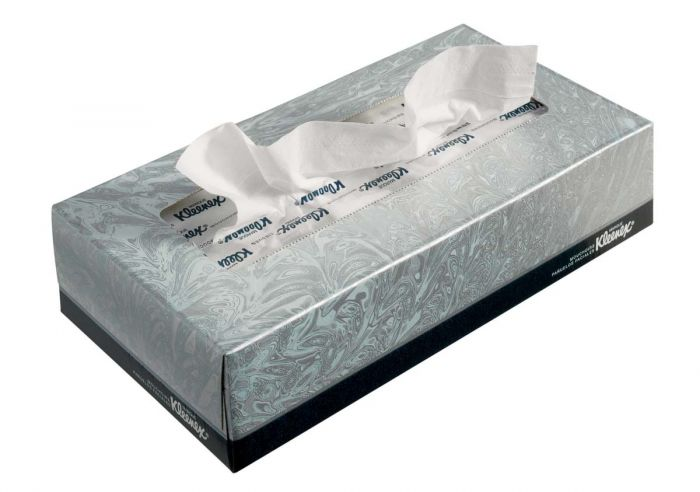 21400 KLEENEX  Facial Tissue - Standard - White - 36 x 100 Sheets