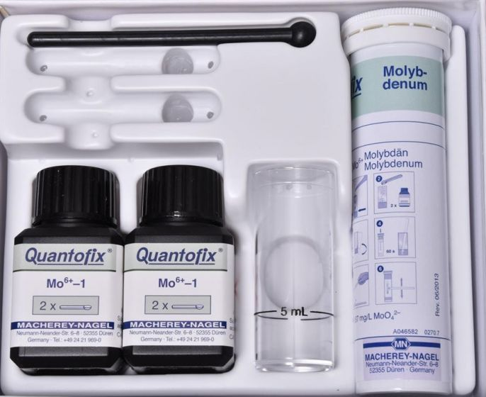 QUANTOFIX Molybdate box of 100 test sticks 6x95 mm