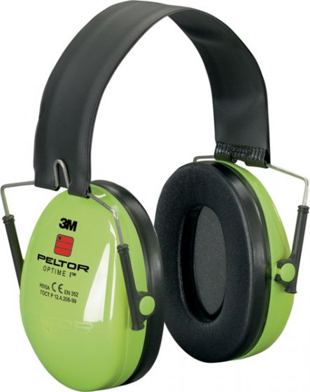 PELTOR Optime I Ear Muff Headband Hi-Viz Pack of 10