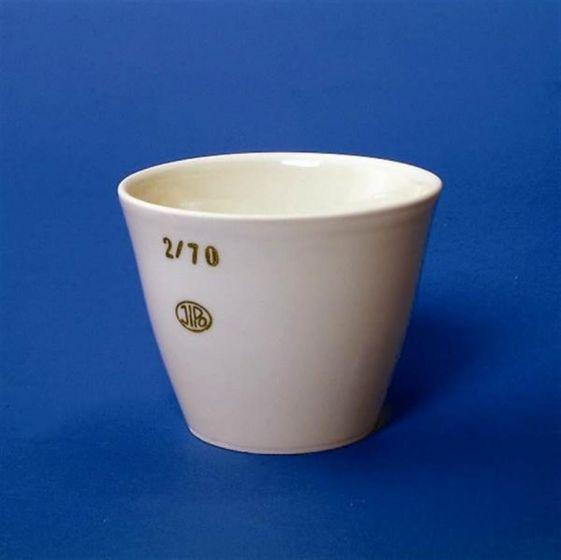 Crucible Porcelain Medium Form