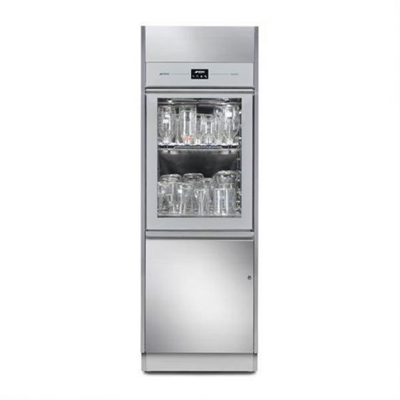 SMEG GW6010 Professional  Large Dimension Single/Double Door Glass Washer 280 L-Camlab
