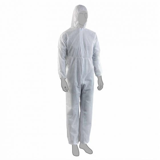 PAL Coverall With Hood Non-Woven Individually Wrapped in A Bag--Camlab