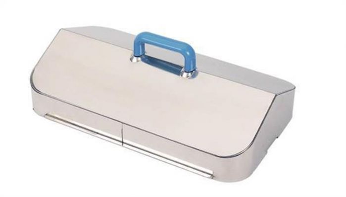 Stainless Steel Gable Lid to fit 22 and 28 Litre Unstirred Baths