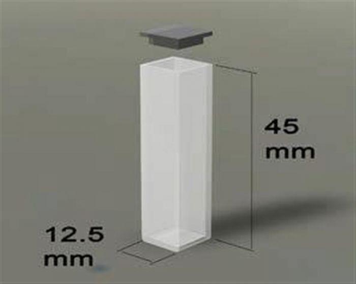 Standard Spectrophotometer UV Quartz Cells (with lids)