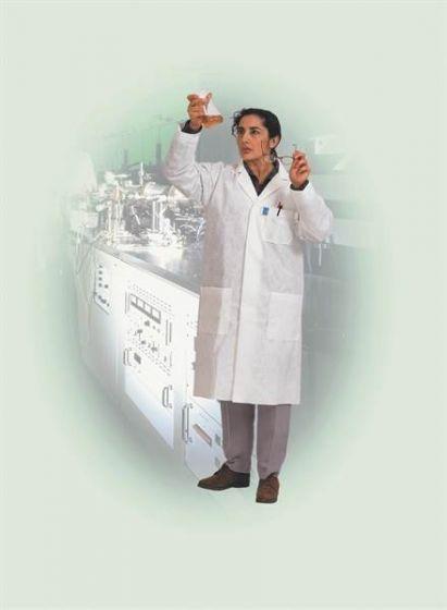 Kimtech Science A7 Laboratory Coat - L White 15 Lab Coats