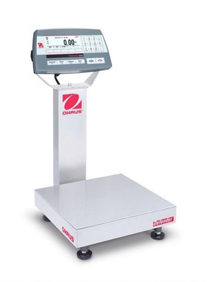 Ohaus 30461545 Defender 5000 Platform Scale Capacity 3kg/6kg Readability 1g/2g M cert-camlab