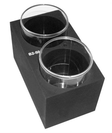 Grant - B2-50 Interchangeable block for CH3-150 unit: 2 x  48mm tubes, depth 58mm-camlab