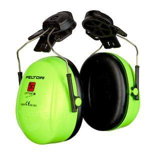 PELTOR Optime II Ear Muff Helmet Attachment Hi-Viz Pack of 10