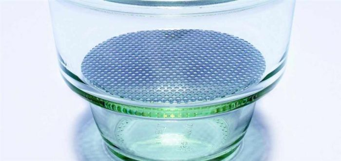 Pyrex Metal Perforated Plate 200mm-1597/04D-Camlab