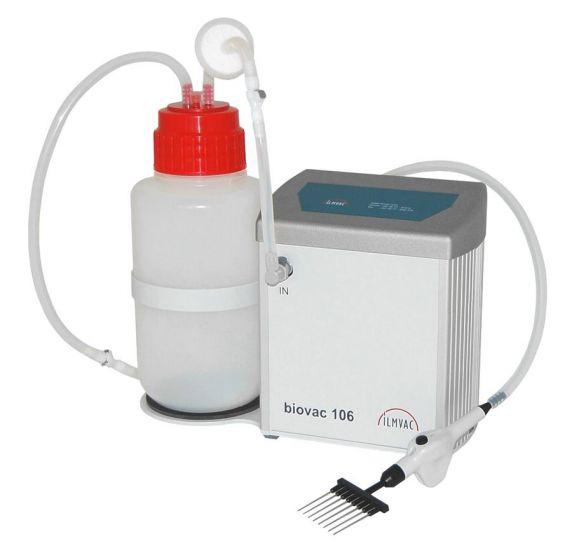Aspiration System Biovac 106 with 4L Polypropylene Bottle-112037-04-Camlab