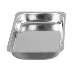 Deep Grade 304 Stainless Steel Tray - 530 x 325 x 100mm