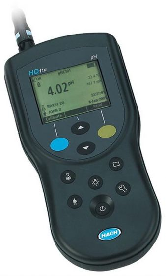 HQ11D pH meter With Rugged Probe 5m Cable-HQ11D.99.105000-Camlab