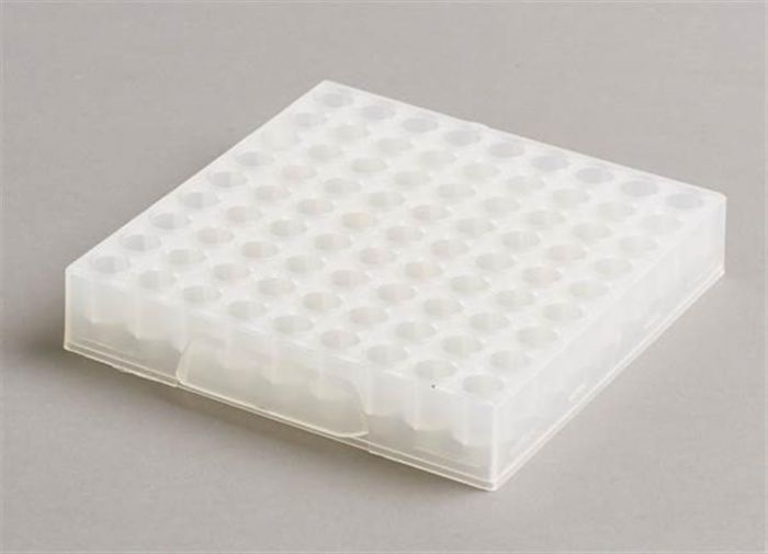 81 Place Polypropylene Maxicold Racks Natural Pack of 5 (Tubes <12mm diam)