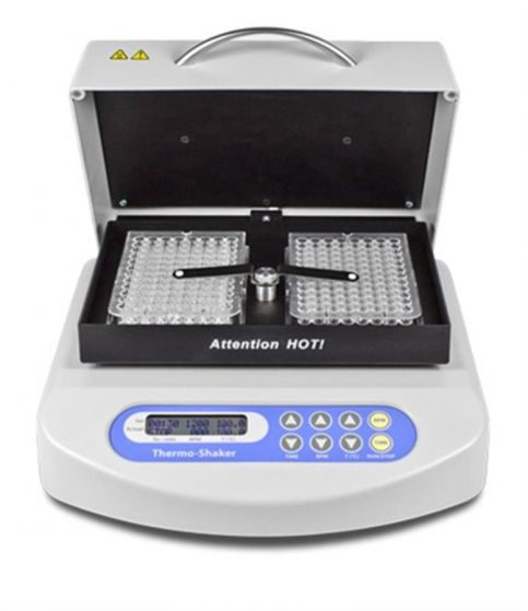 Grant - PHMP-100 microplate thermoshaker: 2 plate capacity-camlab