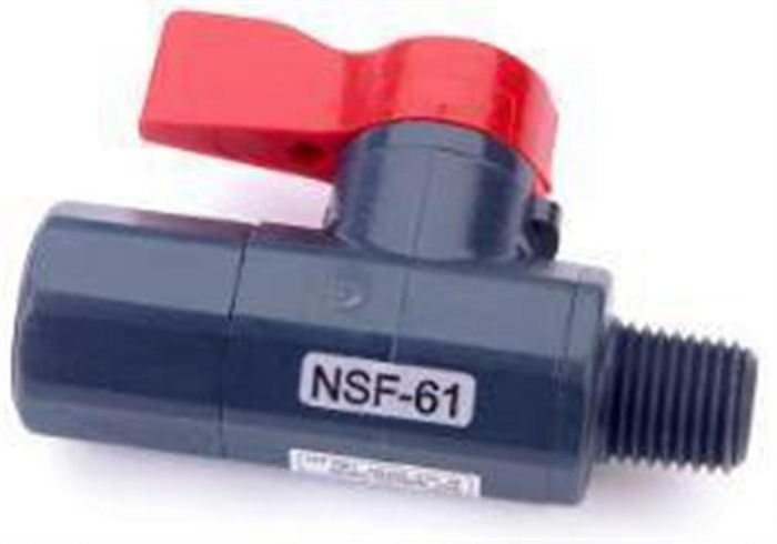 Hach - 1/4 NPT Ball Valve For CL17 (New Type)-Camlab
