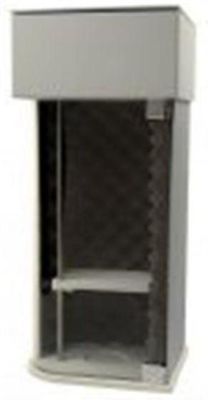 Sound abatement chamber for Omni Ruptor-camlab