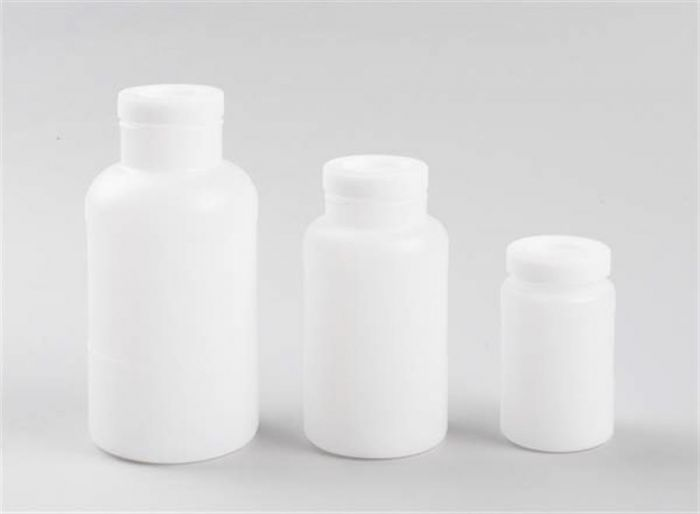 Heavy duty Wide Mouth HDPE Bottles-camlab