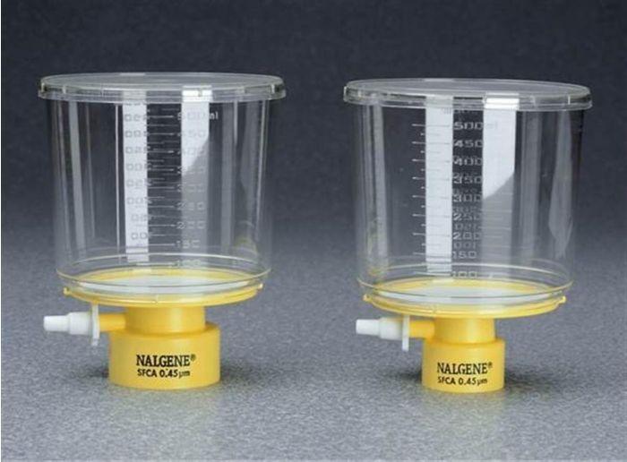 Bottle top filters, SFCA membrane