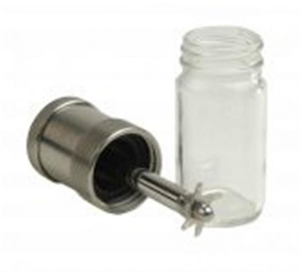 Glass chamber assembly 50ml with 1 inch cutting blade-camlab