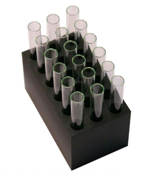 Grant - B18-12 Interchangeable block for CH3-150 unit: 18 x  12mm tubes-camlab