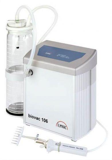Aspiration System Biovac 106 with 2L Glass Bottle
