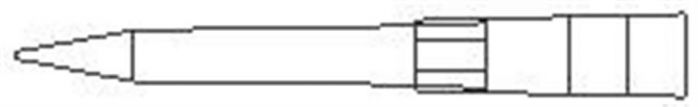 Natural 350µl tip Volume Pack of 10X96/Rack-camlab