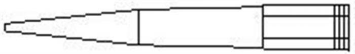 Natural tip 1000µl Volume Pack of 6 X 96-camlab