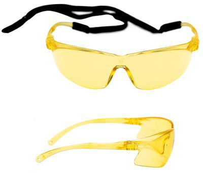 Tora PC amber lens w / AS+AF coating and spec-cord Pack of 20