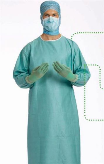 750102 BARRIER Standard Surgical Gown - Large Pack of 46