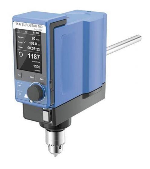 EUROSTAR 100 control digital electronic overhead stirrer (reversible)