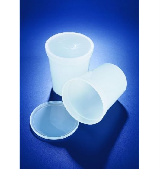 Azlon Polypropylene Snap on Lid Containers-camlab