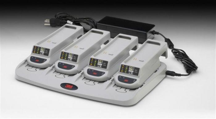 Versaflo TR-344UK 4-Station Battery Charger Kit for TR-300 Turbo Series - Each