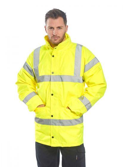 S460 Yellow Hi-Vis Traffic Jacket