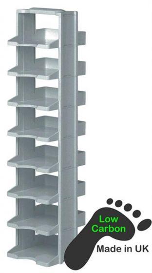 8 Level Polycarb Labtower Set With Racks