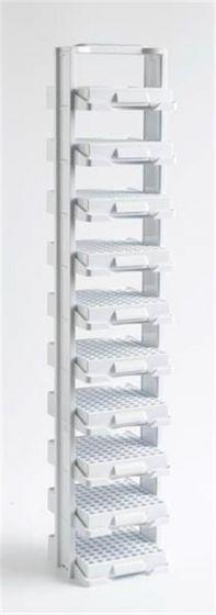 Camlab Plastics 10 Level Polycarb Labtower Set With Racks
