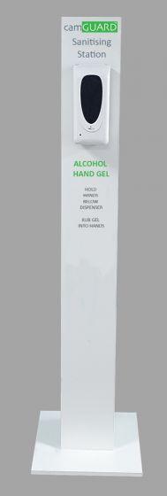 Free Standing Sanitiser Pod - Automatic Infrared Dispenser - 1L refillable.