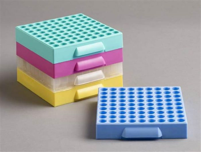81 Place Polypropylene Maxicold Racks Mixed Pack of 5 (Tubes <12mm diam)