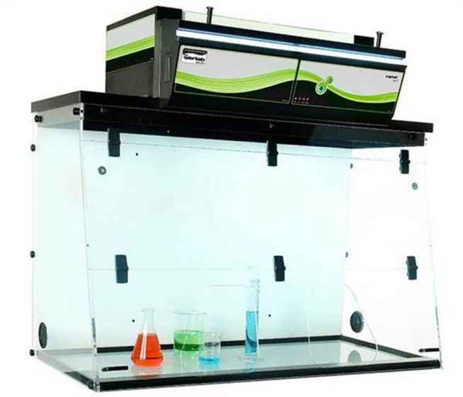 Erlab Captair 481 ductless fume hood for laboratory filtration of chemicals-camlab