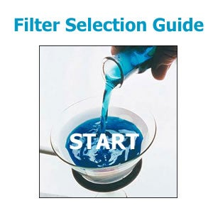 Filter selection guide