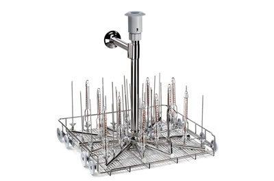 Jet rack for glasswashers