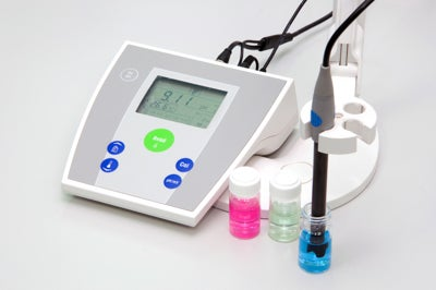 Electrochemistry pH meter