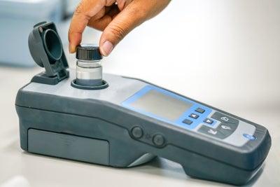 Photometer for pH testing