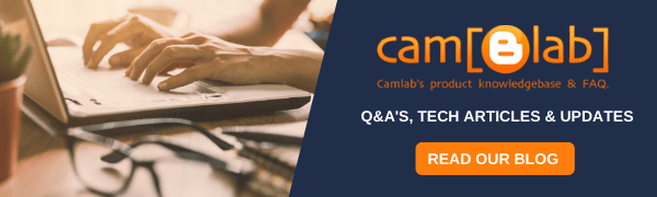 Camlab Bliog - Technical info, Q&A's, Guides, Manuals