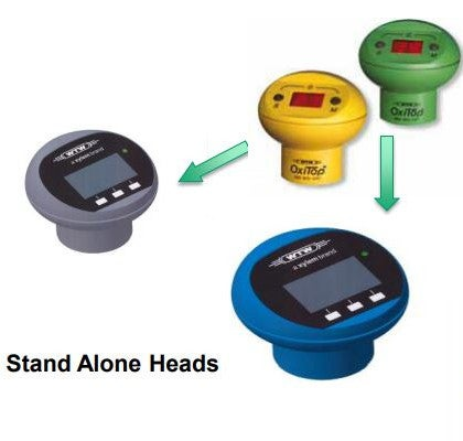 OxiTop Stand Alone heads